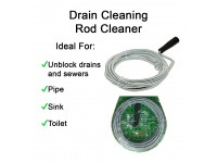 Drain Cleaning Rod Cleaner 5mm x 5 meter Toilet Kitchen Tandas Sinki Sumbat LittleThingy