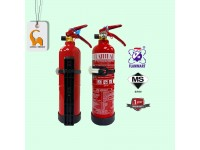 1kg Fire Extinguisher Year 2020 Flammart Sirim And Puspakom Inspection Ready For Vehicle Grab Car Driver Taxi Van ABC Dry Powder Kereta Grab LittleThingy