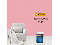 3243 Bermuda Pink 1L Jotun Majestic True Beauty Sheen Anti Bacteria & Anti Fungal Interior Wall Paint Indoor Cat Dinding Kilat Dalam Rumah LittleThingy