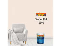 2396 Tender Pink 1L Jotun Majestic True Beauty Sheen Anti Bacteria & Anti Fungal Interior Wall Paint Indoor Cat Dinding Kilat Dalam Rumah LittleThingy