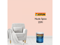 2591 Nude Spice 1L Jotun Majestic True Beauty Sheen Anti Bacteria & Anti Fungal Interior Wall Paint Indoor Cat Dinding Kilat Dalam Rumah LittleThingy