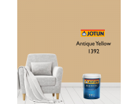 1392 Antique Yellow 1L Jotun Majestic True Beauty Sheen Anti Bacteria & Anti Fungal Interior Wall Paint Indoor Cat Dinding Kilat Dalam Rumah LittleThingy