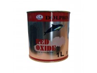 1L Dolphin Anti Rust Black Oxide / Red Oxide Undercoat Paint / Cat Pengegah Berkarat Besi Kopek 1 Liter LittleThingy
