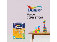 70RB 67/067 Vesper 5L Dulux Easy Clean Interior Ceiling & Wall Paint Water Based Matt Finish Cat Dinding Senang Cuci LittleThingy