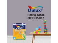 50RB 35/067 Restful Sleep 5L Dulux Easy Clean Interior Ceiling & Wall Paint Water Based Matt Finish Cat Dinding Senang Cuci LittleThingy