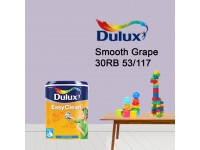 30RB 53/117 Smooth Grape 5L Dulux Easy Clean Interior Ceiling & Wall Paint Water Based Matt Finish Cat Dinding Senang Cuci LittleThingy