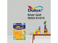30GG 61/010 Silver Quill 5L Dulux Easy Clean Interior Ceiling & Wall Paint Water Based Matt Finish Cat Dinding Senang Cuci LittleThingy