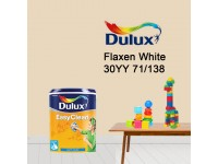30YY 71/138 Flaxen White 5L Dulux Easy Clean Interior Ceiling & Wall Paint Water Based Matt Finish Cat Dinding Senang Cuci LittleThingy