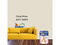 LittleThingy 45YY 74/073 China White 5L Dulux Ambiance Pearl Glo Interior Wall & Ceiling Mid Sheen Finish Indoor Mix Paint Cat Dinding Kilat