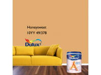 LittleThingy 10YY 49/378 Honeysweet 5L Dulux Ambiance Pearl Glo Interior Wall & Ceiling Mid Sheen Finish Indoor Mix Paint Cat Dinding Kilat