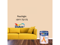 LittleThingy 10YY 72/172 Peachlight 5L Dulux Ambiance Pearl Glo Interior Wall & Ceiling Mid Sheen Finish Indoor Mix Paint Cat Dinding Kilat