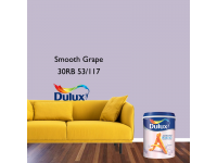 LittleThingy 30RB 53/117 Smooth Grape 5L Dulux Ambiance Pearl Glo Interior Wall & Ceiling Mid Sheen Finish Indoor Mix Paint Cat Dinding Kilat