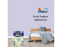 LittleThingy 03RB 63/122 Purple Foxglove 5L Dulux Pentalite Interior Wall & Ceiling Smooth Matt Finish Indoor Mix Paint Cat Dinding