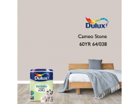 LittleThingy 60YR 64/038 Cameo Stone 5L Dulux Pentalite Interior Wall & Ceiling Smooth Matt Finish Indoor Mix Paint Cat Dinding