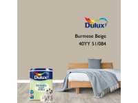 LittleThingy 40YY 51/084 Burmese Beige 5L Dulux Pentalite Interior Wall & Ceiling Smooth Matt Finish Indoor Mix Paint Cat Dinding