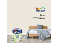 LittleThingy 39YY 85/046 Egret 5L Dulux Pentalite Interior Wall & Ceiling Smooth Matt Finish Indoor Mix Paint Cat Dinding