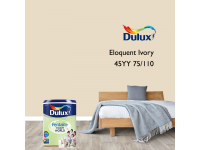 LittleThingy 45YY 75/110 Eloquent Ivory 5L Dulux Pentalite Interior Wall & Ceiling Smooth Matt Finish Indoor Mix Paint Cat Dinding