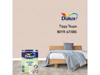 LittleThingy 80YR 67/085 Tippy Taupe 5L Dulux Pentalite Interior Wall & Ceiling Smooth Matt Finish Indoor Mix Paint Cat Dinding