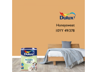 LittleThingy 10YY 49/378 Honeysweet 5L Dulux Pentalite Interior Wall & Ceiling Smooth Matt Finish Indoor Mix Paint Cat Dinding