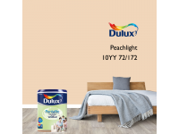 LittleThingy 10YY 72/172 Peachlight 5L Dulux Pentalite Interior Wall & Ceiling Smooth Matt Finish Indoor Mix Paint Cat Dinding