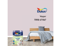LittleThingy 70RB 67/067 Vesper 5L Dulux Pentalite Interior Wall & Ceiling Smooth Matt Finish Indoor Mix Paint Cat Dinding