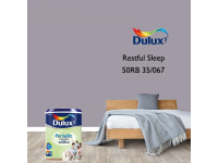 LittleThingy 50RB 35/067 Restful Sleep 5L Dulux Pentalite Interior Wall & Ceiling Smooth Matt Finish Indoor Mix Paint Cat Dinding
