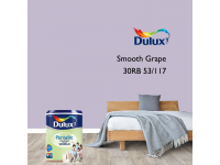 LittleThingy 30RB 53/117 Smooth Grape 5L Dulux Pentalite Interior Wall & Ceiling Smooth Matt Finish Indoor Mix Paint Cat Dinding
