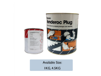LittleThingy Fosroc Renderoc Plug 4.5kg Instant Set Cement For Stopping Leakages and Seepages Building Material