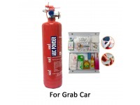 Grab Car 1Kg Fire Extinguisher Sri Year 2020 Production Sirim Puspakom Ready And First Aid Kit For Vehicle Taxi Site Work Pemadam Api Set Untuk Kereta Grab LittleThingy