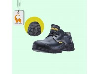 Leather Laced Shoes Safety (UK 4 - 13) Boots Footwear BT-8700 Kasut Keselamatan Bee Three LittleThingy