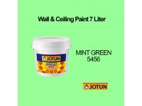Jotun 7L Mint Green 5456 Green Jotaplast Max Interior Emulsion Wall Paint Ceiling Paint Cat Dinding Rumah Warna Hijau LittleThingy