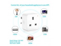 LittleThingy Smart Home Wi-Fi Plug Control Device 16A Connected To Smart Plug/Palam Wi-Fi Pintar