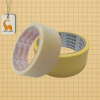 Masking Tape 1/2 Inch To 2 Inches ( 1/2 Inch, 3/4 inch, 1 Inch, 1-1/2 Inch, 2 inches ) Available Cat Dinding LittleThingy