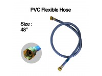 48 Inches PVC Flexible Hose Blue LittleThingy