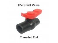 1/2 Inch PVC Ball Valve Threaded End LittleThingy