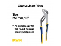 10 Inches Irwin Vise Grip 250 mm Groove Joint Pliers LittleThingy