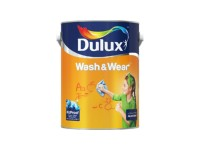 Bluebell White Dsecc 2203 - 1L Dulux Easy Clean Interior Wall & Ceiling Water Based Matt Finish Indoor Mix Paint Cat Dinding Senang Cuci LittleThingy