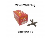 38mm x 8 Wood Wall Plug for Screw Palam Dinding Kayu LittleThingy