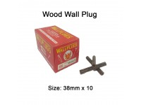 38mm x 10 Wood Wall Plug for Screw Palam Dinding Kayu LittleThingy