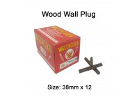 38mm x 12 Wood Wall Plug for Screw Palam Dinding Kayu LittleThingy
