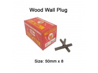 50mm x 8 Wood Wall Plug for Screw Palam Dinding Kayu LittleThingy