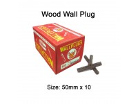 50mm x 10 Wood Wall Plug for Screw Palam Dinding Kayu LittleThingy
