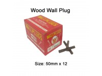 50mm x 12 Wood Wall Plug for Screw Palam Dinding Kayu LittleThingy