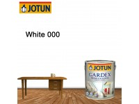 White 5L Jotun Gardex Premium Gloss Anti Rust Anti Fungal For Wood and Metal Surface Cat Kayu Cat Pintu Besi LittleThingy