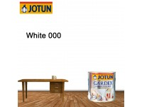 White 1L Jotun Gardex Premium Gloss for Wood and Metal Surface Cat Kayu Cat Pintu Besi LittleThingy