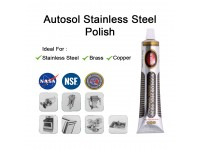 Autosol Stainless Steel Polish Tube 75mL/3.33oz (Made in Germany) Cleanse, Polish and Protect LittleThingy