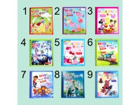 Spiderman Hello Kitty Ultraman Shnow White Cartoon Magic Water Colour 9 Books To Choose For Age 2 To 6 Kid Children Reusable Early Learning Drawing Book