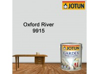 9915 Oxford River 1L Jotun Gardex Premium Gloss for Wood and Metal Surface Cat Kayu Cat Pintu Besi Light Grey LittleThingy