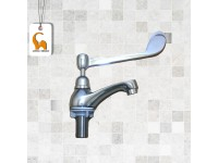 DOE Elbowline Pillar Tap DE88 Chrome Plated Pillar Sink Type Water Tap Sirim Approved Buatan Malaysia Kitchen Bathroom Toilet Washroom Basin Pipe Air LittleThingy