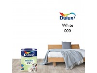5L Dulux White Pentalite Interior Ceiling Wall Paint Smooth Matt Finish Indoor Cat Dinding Dalam Rumah Warna Putih